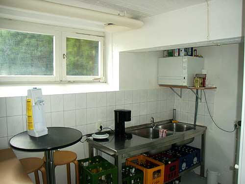 Unser Reisebüro in Hamburg Wandsbek hat auch eine kleine Küche