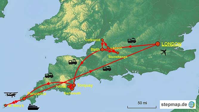 Entdecken Sie S 252 Dengland Und Cornwall Auf Der Schiene